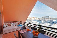 Apartamento em Vilamoura - Apartamento T1 vista Marina e Mar, Marina de Vilam